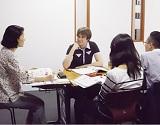 神奈川の大学で日本語を教える