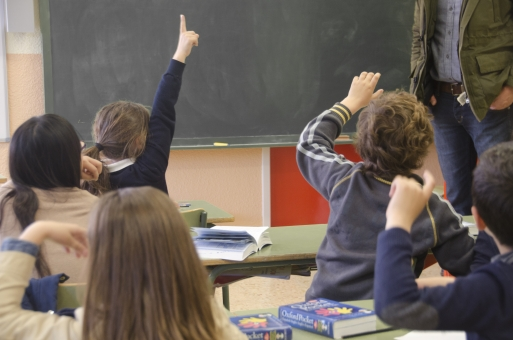 教室の授業風景