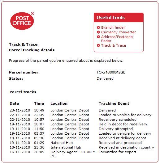 イギリス EMS教材 追跡