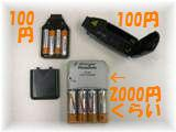 海外対応充電式電池