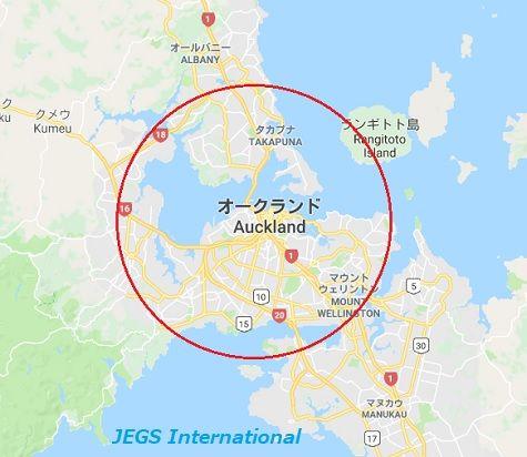 NZの派遣幼稚園所在地