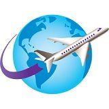 海外留学の飛行機
