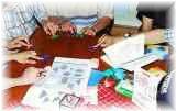 日本語教師の折り紙の授業