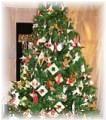 折り紙でクリスマスツリー
