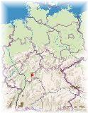 ドイツフランクフルト地図
