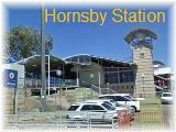 Hornsby station ホーンズビー駅 東口