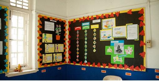 海外の幼稚園教室