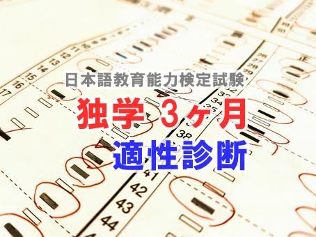日本語教育能力検定試験適性診断