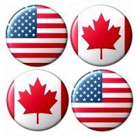 アメリカとカナダ